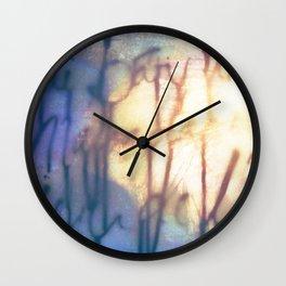 Océan de Terre Wall Clock