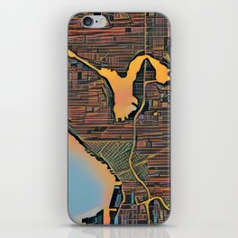 Seattle Color iPhone Skin