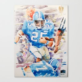 Touchdown Canvas Print