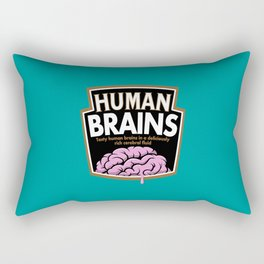 Human Brains Rectangular Pillow