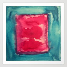 color abstract 8 Art Print