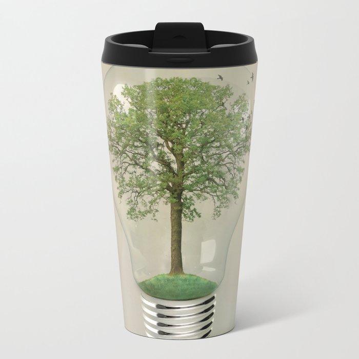 green ideas Metal Travel Mug