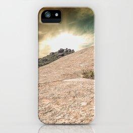 Mountain Big Rock iPhone Case