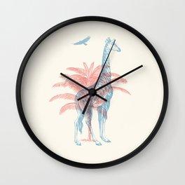 Giraffe - Where they Belong Wall Clock