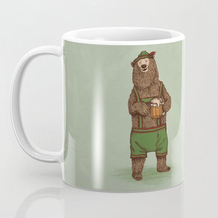 Traditional German Bear Coffee Mug