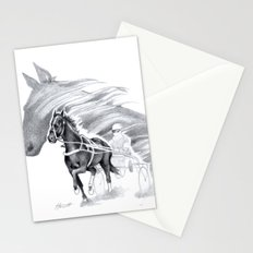 Trotting Up A Storm Stationery Cards