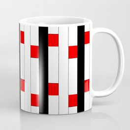 Tribute to mondrian 3- piet,geomtric,geomtrical,abstraction,de  stijl, composition. Coffee Mug