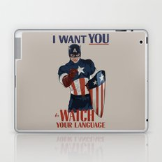 I want you to watch your language Laptop & iPad Skin