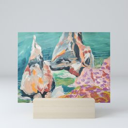 Abstract XIV Mini Art Print