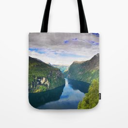 Ornevegen View Tote Bag
