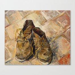 Vincent van Gogh - Shoes Canvas Print