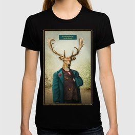 Lord Staghorne in the wood T-shirt