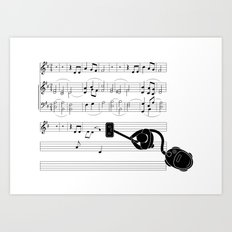 Vacuum sound Art Print