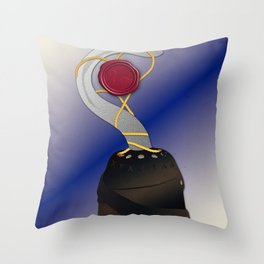 True Love seal Throw Pillow