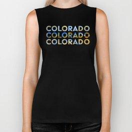 Colorado Biker Tank