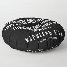 58 | Napoleon Hill Quote Series  | 190614 Floor Pillow