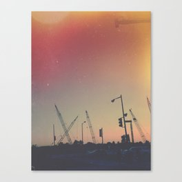 Towers Canvas Print