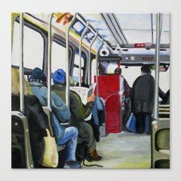 501 Streetcar Eastbound Canvas Print