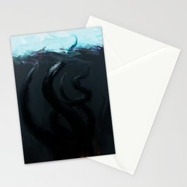 The Kraken I Stationery Cards
