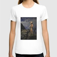 capricorn T-shirts featuring Capricorn by Viggart