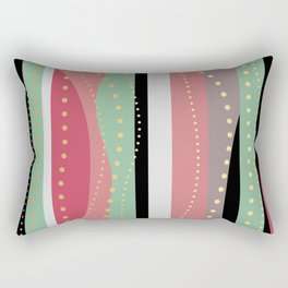 WAVING COLORS Rectangular Pillow