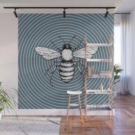 Pop Art  Bee Wall Mural