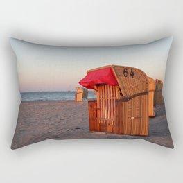Strandkorb Rectangular Pillow