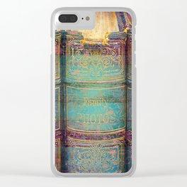 392 9 Fairytale Books Clear iPhone Case