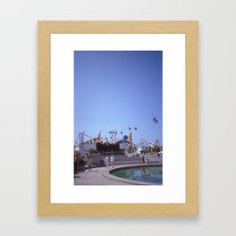 Expo 86 European Plaza Framed Art Print