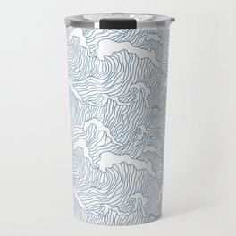 Japanese Wave Travel Mug