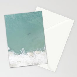 Shark From Above Stationery Cards