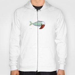 fish with beard Hoody