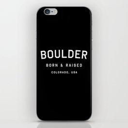Boulder - CO, USA (Arc) iPhone Skin