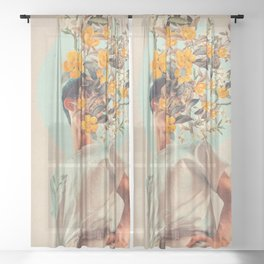 Because You were around Sheer Curtain