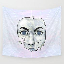 Porcelain Doll Broken Beauty Wall Tapestry