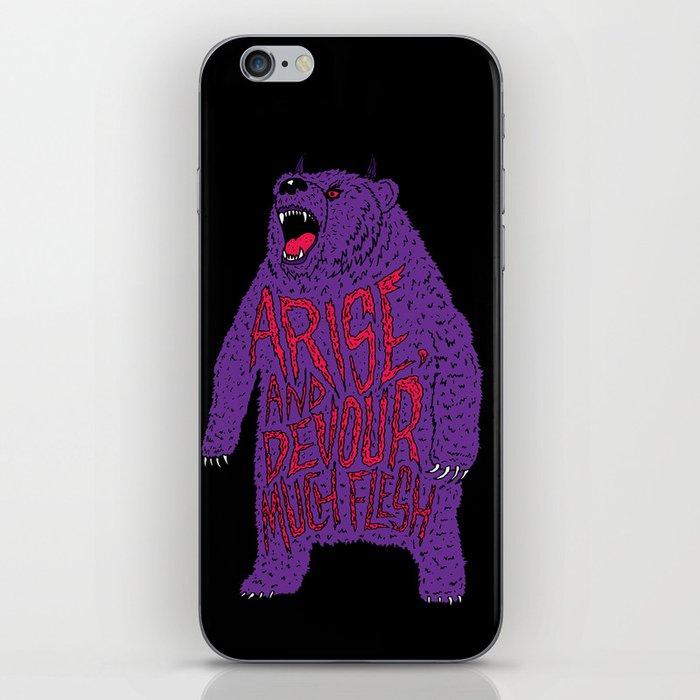 Arise and Devour Much Flesh iPhone Skin