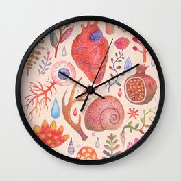 Et coloris natura X Wall Clock