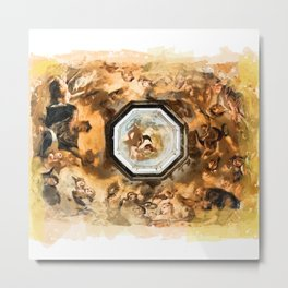 Saint Church Prague Metal Print