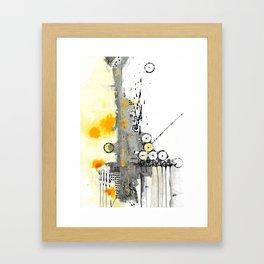 Structure II Framed Art Print