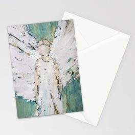 Abstract Angel Painting Stationery Cards