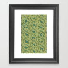 Animal Vines print 2 Framed Art Print