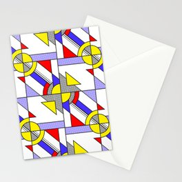 Pop Art Pattern Stationery Cards