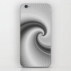 The Big Wave Spiral in Monochrome iPhone & iPod Skin