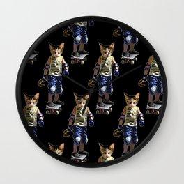 Kool Kat Wall Clock