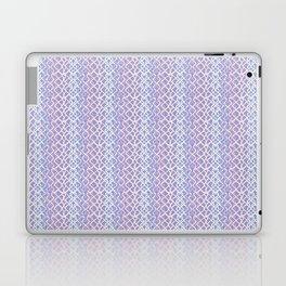 Lilac Abstract Fish Net Loop Pattern Laptop & iPad Skin