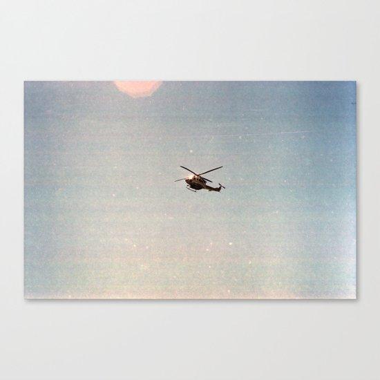 Heli Canvas Print