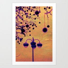Disco Lamp Art Print