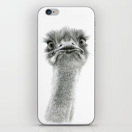 Cute Ostrich SK053 iPhone Skin