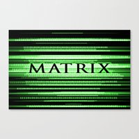 matrix Canvas Prints featuring Matrix by Svetlana Sewell