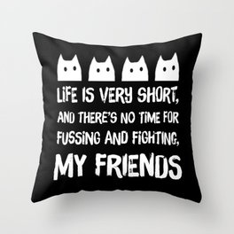 cat-149 Throw Pillow